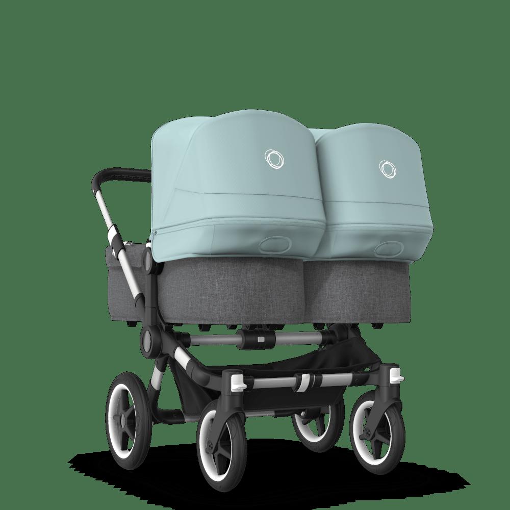 Bugaboo Donkey 3 Twin-barnvagn med liggdel och sittdel