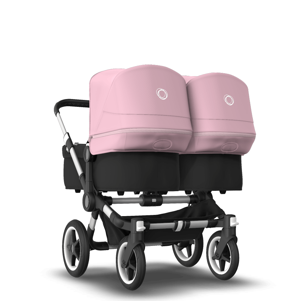 Bugaboo Donkey 3 Twin Kinderwagen mit Sitz und Liegewanne